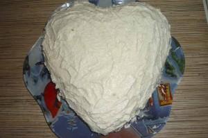 Торт с кремом
