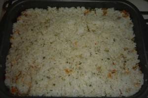 Запеканка с рисом