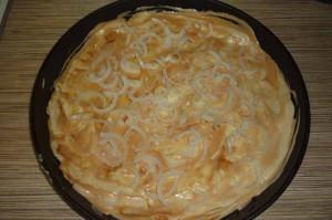 Рецепт пиццы с морепродуктами