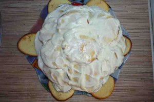 Торт черепаха со сметанным кремом