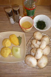Как приготовить суп из шампиньонов