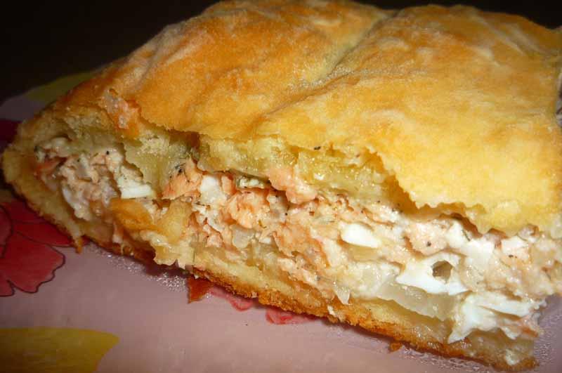 Горбуша пирог рецепты