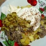 Вкусный салат с грибами