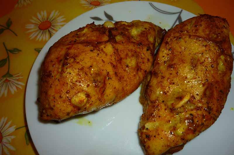 сливочно чесночный соус для курицы в духовке