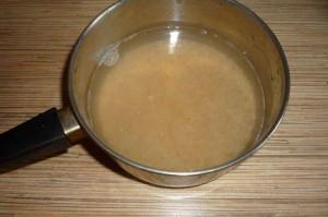 Ячневая каша на молоке