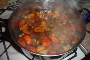 Как приготовить компот из сухофруктов