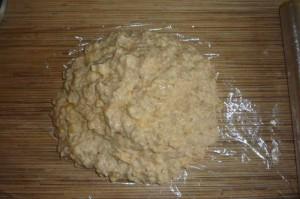 Банановый торт без выпечки с крекером