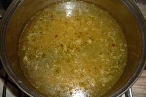 Приготовление супа харчо