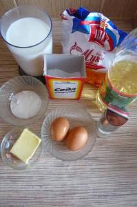 Как готовить блины на молоке