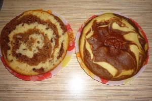 Как приготовить пирог зебра