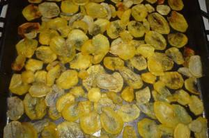 Картофельные чипсы в домашних условиях