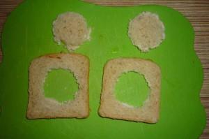 Яичница в хлебе