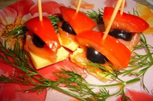 Рецепт канапе