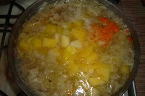 Рецепт щей из квашеной капусты