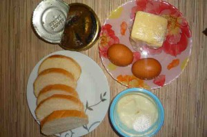 Рецепт бутербродов со шпротами