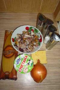 Рецепт пасты с морепродуктами