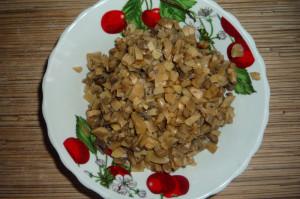 Вареники с картошкой и грибами, рецепт
