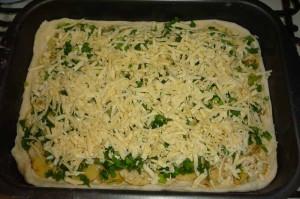 Рецепт пирога с картошкой