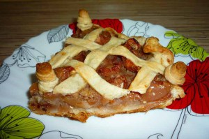 Вкусный пирог с яблоками