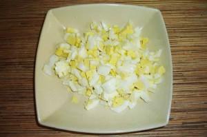 Салат со скумбрией