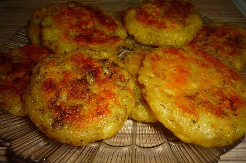 Котлеты из картофеля