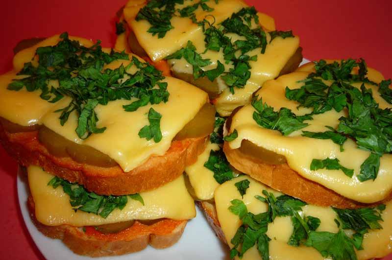 Рецепты бутербродов