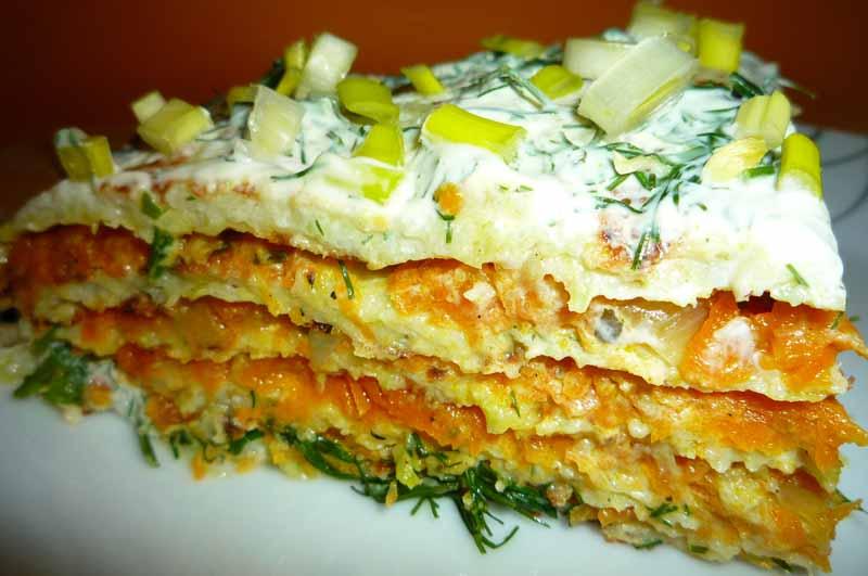 Овощной торт постный рецепты с фото